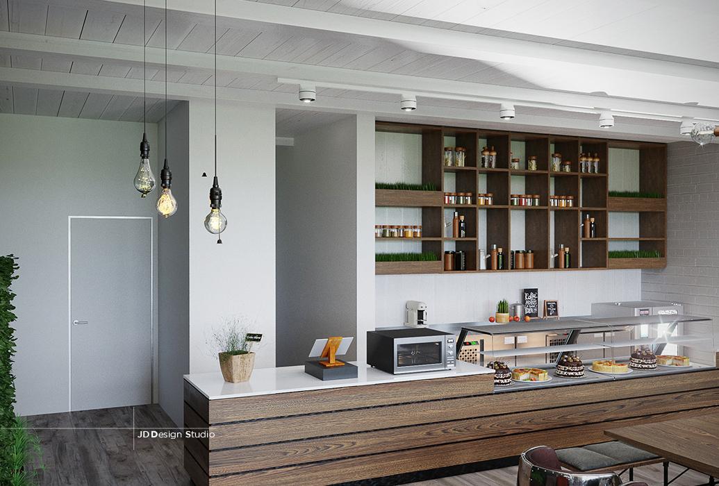 organic cafe � jd design studio